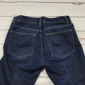 Women's GAP Size 6 Boot Cut Dark Jeans